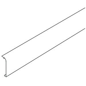 SFE70R.3, Endstück rechts, 70x21,6 mm, Kunststoff ASA, RAL 9010, reinweiß