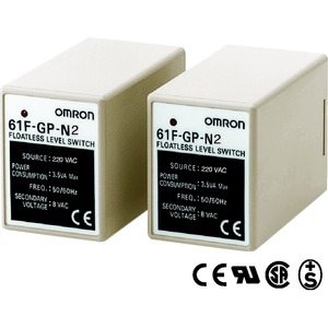 61F-GP-N2 220VAC, Niveauregler - Niveauregler auf Leitfähigkeitsbasis