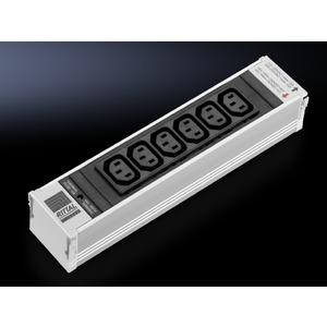 DK 7856.070, PSM 6-fach Kaltgeräte Einsteckmodul C13 mit Sicherung