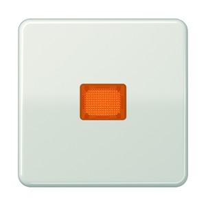 CD 590 KOBF LG, Wippe, Lichtaustrittsfenster, bruchsicher, für Wipp-Kontrollschalter, Tast-Kontrollschalter und beleuchtbare Taster