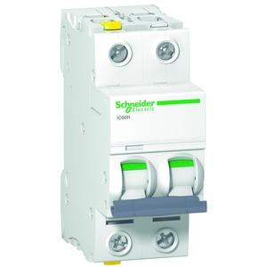 Leitungsschutzschalter iC60H, 2P, 2A, D Charakteristik