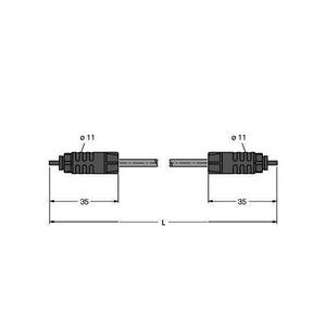 SFOL-2M, IP-Link Lichtwellenleiter, PUR Außenmantel
