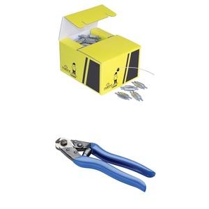 SLK15PROMOPACK, nVent CADDY Speed Link SLK Spulen Kit mit Seilschneider, 100 m (328'), 50 Locking Devices
