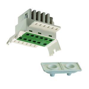 VLNE-11S NETZEINSP.-STARR, Netzeinspeisteil Stromfg. 11pol, eindrähtig IP20/54, 1 Stück