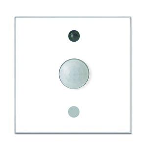 LCN - GUSW, Glas-Universalsensor: Temp., Helligkeit, Feuchte, Bewegung, IR-Empfang, weiß