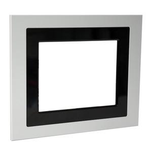 Metallrahmen Aluminium, Rahmen für KNX Control Touch-Panel