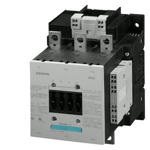 3RT1056-2AM36, Schütz,AC-3,185A/90kW/400V,3-polig,AC/DC200-220V,2S+2Ö,Anschlussschiene/Federzuganschluss