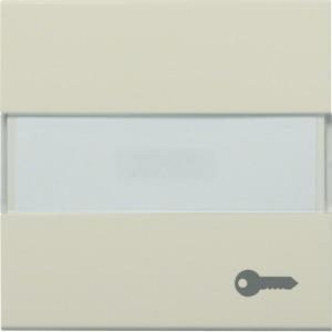 Wippe + Beschrf. m. Tür-Symbol, creme