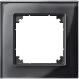 M-PLAN-Echtglasrahmen, 1fach, Onyxschwarz
