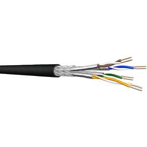 UC LR22 10Gbit S/FTP 4P LSHF-FR 500DW, Kat.7,S/FTP,AWG22,4P,LSHF,500m,blau 105m PL