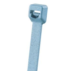 Kabelbinder, 203 mm, Breite: Intermediate, metall detektierbares Nylon, hellblau