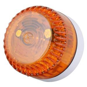 Solex A/SW/10C, Opt. Signalgeber bernstein,   konventionell Sockel weiß
