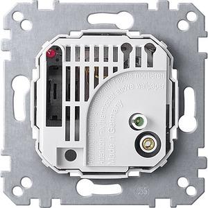 Raumtemperaturregler-Einsatz mit Schalter, AC 24 V