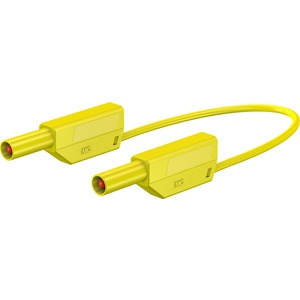 SLK425-E, 4mm Sicherheits-Messleitung 200cm gelb