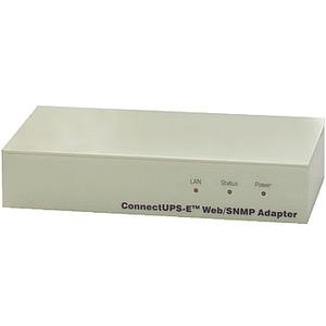 ConnectUPS-E Web/SNMP-Adapter, Externer Web/SNMP-Adapter mit seriellem Anschluss