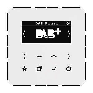 DAB CD WW, Smart Radio DAB+, Digitalradio, Display, Sensortasten, UKW, DAB+