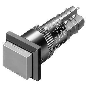 Leuchtdrucktaste I SP 2Ö+2S 18x24 L Au/Ag