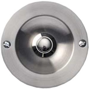 Edelstahlkontaktplatte, Messing-Steel- Design, rund