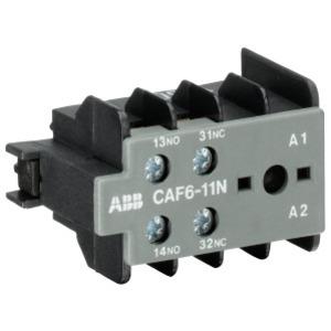 CAF6-11E, Hilfsschalter 1S/1Ö Schraubanschluss, frontseitig anbaubar,