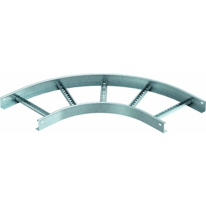 LB 90 650 R3 FT, Bogen 90° für Kabelleiter 60x500, St, FT