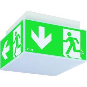 Exit Cube 33822 CGLine (Luminaire), RZ Würfel LED Einzelbatterieleuchte mit autom. Funktionstest