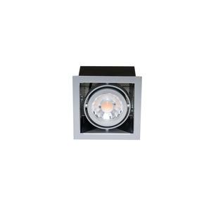 LED Mini Kardan E1 Set 7W titan-matt warmweiß 38°, LED Mini Kardan E1 Set 7W titan-matt warmweiß 38°