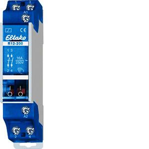 R12-200-230V, Schaltrelais, Steuerleistungsbedarf 1,9W, Steuerspannung 230V AC, R12-200-230V