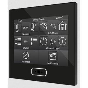 "ZVI-Z35-A, Zennio Z35 Kapazitives Touchpanel mit 3.5"" Display, schwarz"