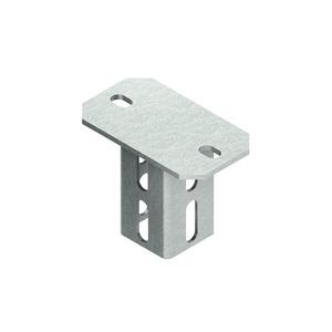 KU 5050, Schraubkopfplatte für Profil U 5050, Stahl, feuerverzinkt DIN EN ISO 1461, inkl. Zubehör