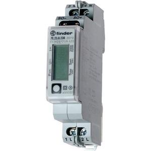 7E.23.8.230.0010, Zähler für 1-Phasen Wechselstrom, bis 32 A, LCD-Anzeige, S0-Schnittstelle, MID-konform