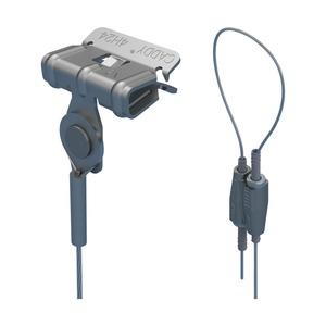 SLK2L34H58, nVent CADDY Speed Link SLK mit Federstahlklammer zum Aufschlagen, 2 mm Stahlseil, 3 m (9,9') Länge, 8–14 mm (5/16–1/2) Flansch