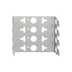 MB 5, Montagebügel für LSA-Verbindungselemente, 10 DA, Rastermaß 22,5 mm, für 5 Module