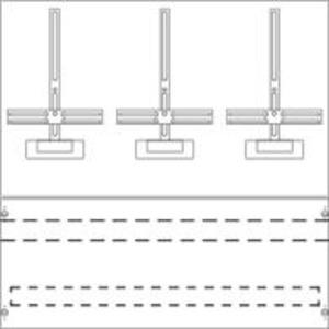KF140SB, Zählerwechselplatte mit Zählerkreuz