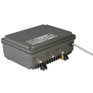 VARIO 682 O, Modularer Breitbandverstärker ortsgespeist, mit optionalem 33 oder 65 MHz Rückweg, 15 MHz Hochpass im Rückweg, Vorweg bis 1006 MHz, Verstärkung Vorweg