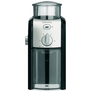 Kaffee-Espresso-Mühle, Schwarz/Chrom