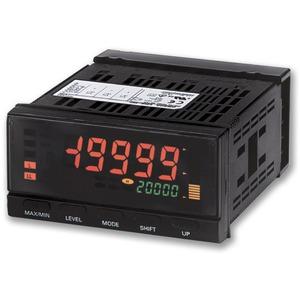 K3HB-XAD 24VAC/VDC, Prozess-Anzeige: Eingang Strom DC