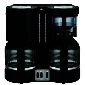 KM8508, Doppel-Kaffeeautomat DuothekPlus schwarz