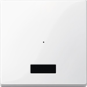 Wippe für Taster-Modul 1fach mit IR, polarweiß glänzend, System M