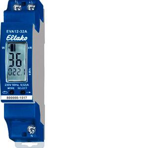 EVA12-32A, Wechselstromzähler mit Energieverbrauchsanzeige