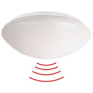 L9-LEDN-HF weiß, LED-Rundleuchte zur Wand- oder Deckenmontage mit integriertem (HF-) Radarmelder