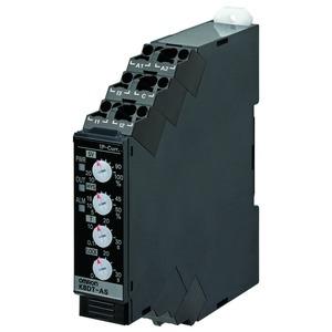 K8DT-AS1CD, Überwachungsrelais, 17.5mm, Einphasen-Über-/Unterstrom-Überwachung, 2 bis 500 mA AC/DC, 1x Wechsler, 24V AC/DC
