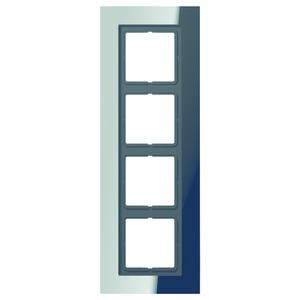 LSP 984 GCR, Rahmen, 4fach, für waagerechte und senkrechte Kombination
