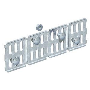 RWVL 60 FS, Längs- und Winkelverbinder für Kabelrinne, horizontal 60x200, St, FS