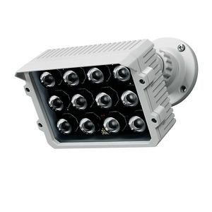 IR26/850, Infrarotstrahler 60m / 80° 850nm 12 LEDs IR-Strahler für Videoüberwachung