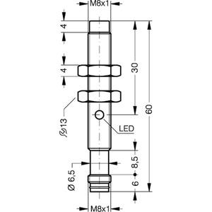 DCC08M06PSK-TSL, Induktive Sensoren