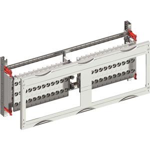 MR202B, Sammelschienen-Modul 2RE / BH000, 2FB, 60mm horizontal CombiLine-Modul, montiert