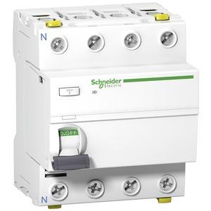 Fehlerstrom-Schutzschalter iID, 4P, 63A , 100mA, Typ A, SI