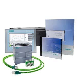 6AV6651-7HA01-3AA4, S7-1200+KP300 Basic-Starter-Kit bestehend aus: CPU 1212C AC/DC/Relais, HMI KP300 Basic mono PN, Eingangssimulator, STEP 7 Basic CD, Handbuch CD, Infom