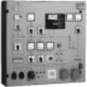 PST 3E, Prüftafel mit eingebautem;Messgerät GE