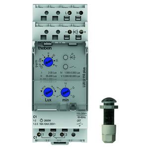 LUNA 110 plus EL, Dämmerungsschalter, Einbau-Lichtsensor, 1 Kanal